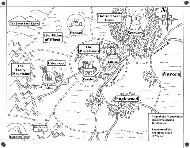 Mouselands Map